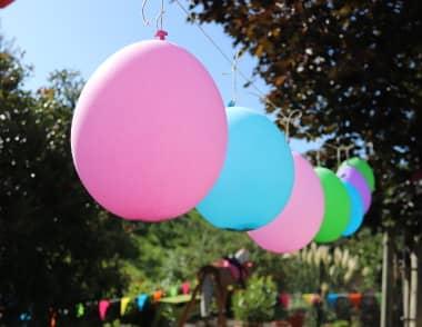 ökologisches Luftballonzubehör