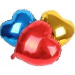 Herzballons aus Folie