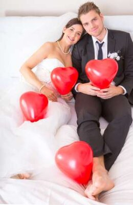 Hochzeitsdeko mit Luftballons - Hochzeitsdeko mit Luftballons