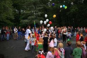 Luftballons für das Sommerfest - Luftballons für das Sommerfest - eine Dekoidee