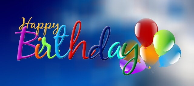 Geburtstags Luftballons - Geburtstags Luftballons - Ballons für Geburtstag und Party