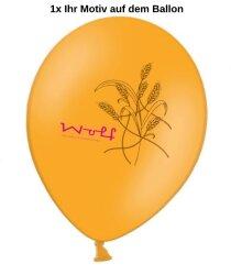 Luftballons 1-seitig 2-farbig bedrucken - Ø 27-32cm A850