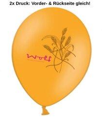 Luftballons 2-seitig 2-farbig bedrucken - Ø 27-32cm A850