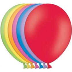 100 Luftballons Ø35cm - bunt gemischt pastell - A100
