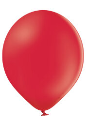 500 Luftballons Ø38cm - 101 rot pastell - A110