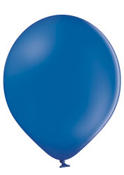 100 Luftballons Ø32cm - 022 royal blau pastell - A850