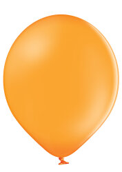 100 Luftballons Ø35cm - 007 orange pastell - A100