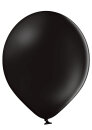 100 Luftballons Ø 27cm - 025 schwarz pastell - A750