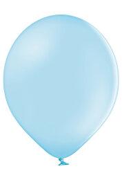 100 Luftballons Ø 27cm - 003 hellblau pastell - A750
