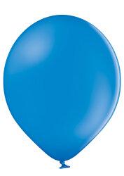 100 Luftballons Ø35cm - 012 mittelblau pastell - A100