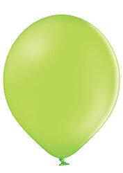 100 Luftballons Ø 27cm - 008 apfelgrün pastell - A750