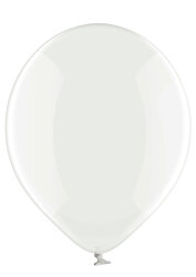 100 Luftballons Ø35cm - 038 durchsichtig transparent - A100