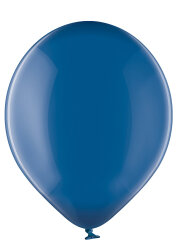 500 Luftballons Ø 27cm - 033 blau kristall - A750