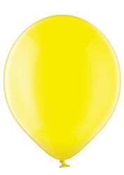 100 Luftballons Ø35cm - 036 gelb kristall - A100