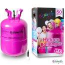 Heliumflasche 50 - Balloonify Helium inkl. Ventil -...